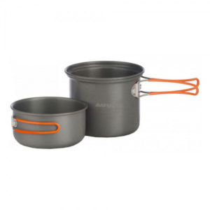 Набор посуды Vango Hard Anodised Cook Kit 2 Person Grey, код 925252