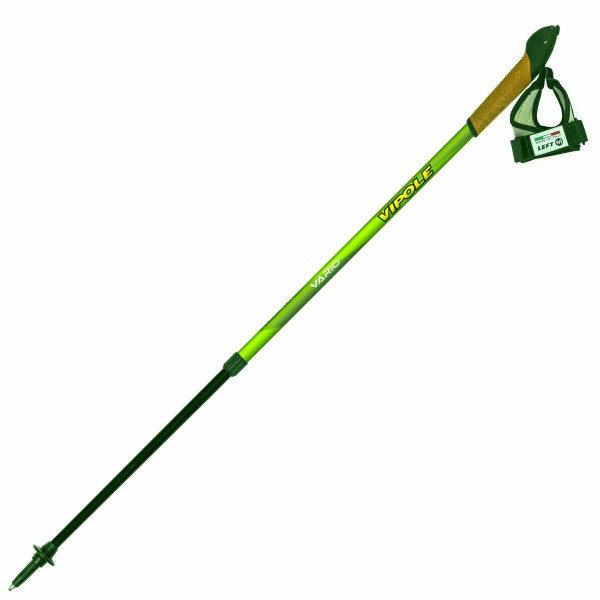 Палки для скандинавской ходьбы Vipole Vario Top-Click Green DLX S1858, код 925376