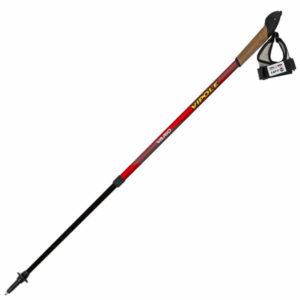 Палки для скандинавской ходьбы Vipole Vario Top-Click Red DLX S1857, код 925375