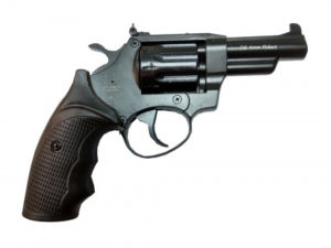 Револьвер под патрон Флобера Safari PRO 431 пластик 3» BLACK, код