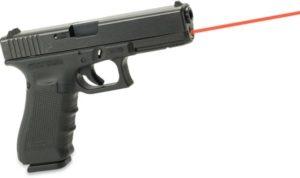 Целеуказатель лазерный  LaserMax интегрированый для Glock 17 Gen 4 (красный луч), код LMS-G4-17