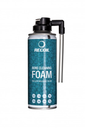 Пена для чистки стволов RecOil 200мл, код HAM007