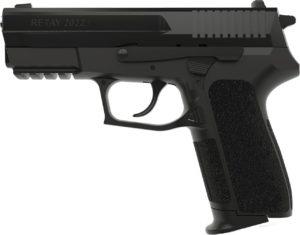 Пистолет стартовый Retay 2022, 9 мм, black, код 1195.06.11