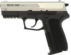 Пистолет стартовый Retay 2022, 9 мм, сатин, код 1195.06.14