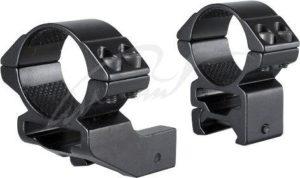 Крепление-кольца Hawke Match Mount, 30 мм, weaver, высокое (короткая база), код 3986.00.96