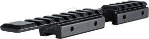 Планка Hawke Adaptor Base, 11mm- Weaver/Picatinny, раздельная, код 3986.00.98