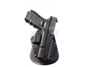 Кобура Fobus для Glock 17/19 с креплением на ремень/кнопкой фиксации скобы спускового крючка, код 2370.16.12