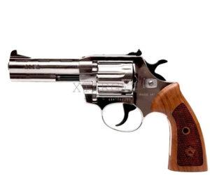 Револьвер флобера Alfa mod.441 Classic 4 мм никель/дерево, код 1431.00.50