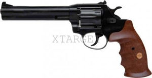 Револьвер флобера Alfa mod.461 4 мм ворон/дерево, код 1431.00.52