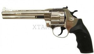 Револьвер флобера Alfa mod.461 4 мм никель/пластик, код 1431.00.53