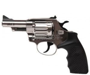 Револьвер флобера Alfa mod. 431 4 мм никель/пластик, код 1431.00.57
