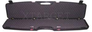 Кейс Mega line 97x25x10 пластиковый, черный,кодовый замок, код 1425.00.84