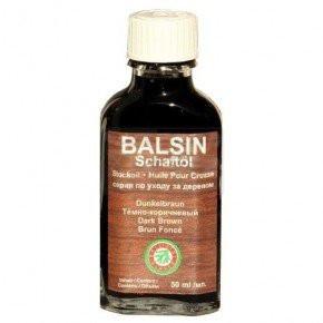 Масло Clever Ballistol Balsin Schaftol 50мл. для ухода за деревом, темно-коричневый, код 429.00.07