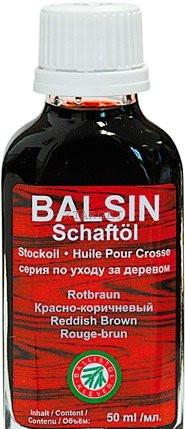 Масло Clever Ballistol Balsin Schaftol 50мл. для ухода за деревом, красно-коричневый, код 429.00.09