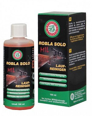 Жидкость Klever Ballistol Robla Solo MIL 65мл. для чистки стволов, код 429.00.27