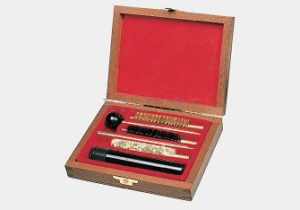 Набор для чистки Mega line пистолет 9к. дерев. коробка, код 1425.00.72