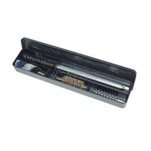 Набор для чистки Mega line 22к. пистолет,алюмин.короб, латуный шомпол, код 1425.01.31