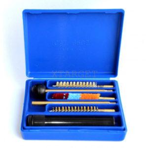 Набор для чистки Mega line пистолет 7к. пласт. короб, 2-ух.коленный шомпол, код 1425.00.34