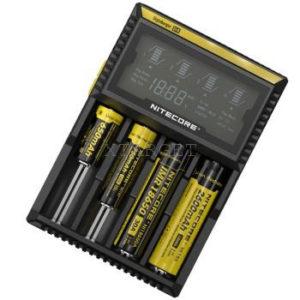 Зарядное устройство Nitecore Digicharger D4 с LED дисплеем (4 канала), код 6-1121