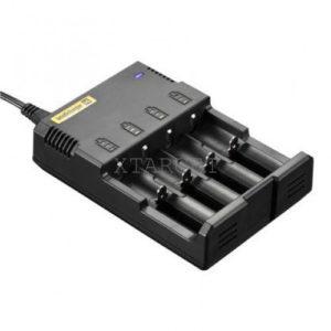 Зарядное устройство Nitecore Intellicharger i4 v.2 (4 канала), код 6-1004