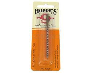 Бронзовый ершик для чистки оружия Hoppe's  кал.17, .204, код 1302P