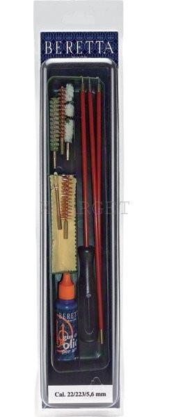 Набор Beretta для чистки оружия к.22 ,5.6 , 223к, код CK14-72-9
