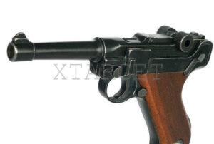 Пистолет стартовый ME Luger P-08 9 мм, код 1195.03.07