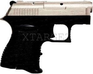 "Пистолет старт. EKOL ""ВОТAN"" 9мм (сатин/чёрный), код 1420.00.11"