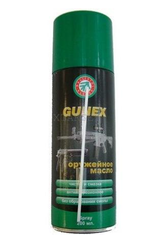 Масло Klever Ballistol Gunex-2000 200мл. ружейное, спрей, код 429.00.11