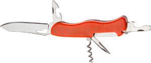 Нож PARTNER HH022014110  на 7 инстр. оранжевый, код 1765.01.69