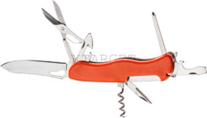 Нож PARTNER HH032014110 на 9 инстр. оранжевый, код 1765.01.70
