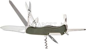 Нож PARTNER HH042014110 на 10 инстр. оливковый, код 1765.01.79