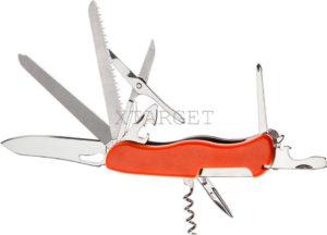 Нож PARTNER HH052014110 на 11 инстр. оранжевый, код 1765.01.72