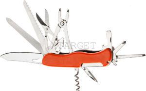 Нож PARTNER HH082014110 на 13 инстр. оранжевый, код 1765.01.75