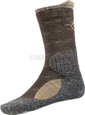 Носки Blaser Socks Allround. Размер – 42/44. Цвет – Grey-Brown Mottled, код 1447.12.04