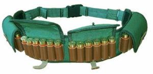 Комбинированный патронташ поясной 12 к на 24 патрона, код 2059