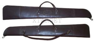Чехол кожаный 135 см для оружия без оптики, код 2102