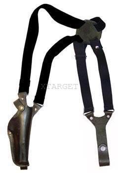 Кобура оперативная кожаная формованная с синтетическим креплением, код 1000