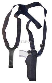 Кобура оперативная синтетическая с синтетическим креплением вертикальная, код 1052