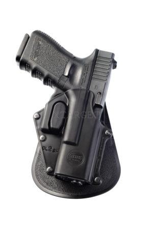 Кобура Fobus для Glock 17,19, Форт-17 с поясным фиксатором, замок на скобе, код 2370.23.14