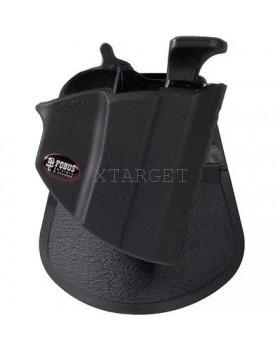 Кобура Fobus для Glock-17/19, Форт-17 с креплением на ремень, замок под большой палец, код 2370.23.32