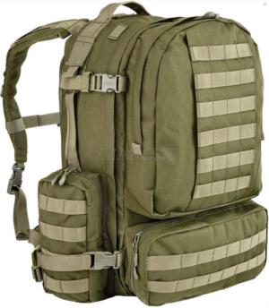 Рюкзак Defcon 5 Extreme Modular Back Pack. Объем – 60 л. Цвет – оливковый, код 1422.01.56