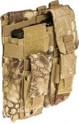 Подсумок Skif Tac для 2-х магазинов АК/AR, 2-х пистолетных, код 2795.03.10