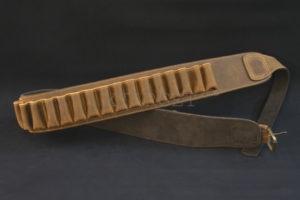 Патронташ  Artipel поясной кожаный кал.12/30 отделений, код CA01/12XL