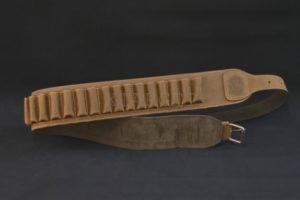 Патронташ  Artipel поясной кожаный кал.12/26 отделений, код CA04/12XL