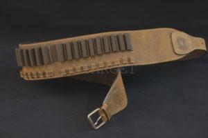 Патронташ  Artipel поясной кожаный для карабинов, код CA06