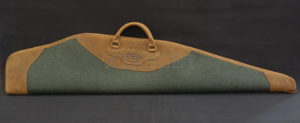 Чехол Artipel для карабина с оптикой с кожи и овчины 120 см, код FOL06