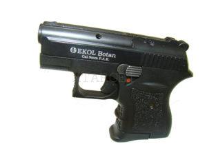 Пистолет стартовый EKOL BOTAN (чёрный), код 22273