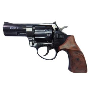 Револьвер флобера PROFI-3″ Pocket (чёрный / пластик под дерево), код 24263