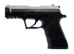 Стартовый пистолет EKOL ALP Fume, 9 mm серый, код 24571